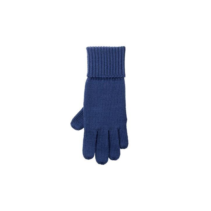 PurePure Kids-Handschuh WV jeans 100% Merinowolle