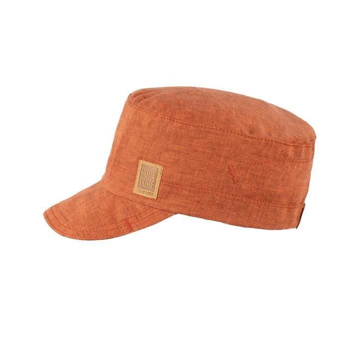 PurePure Kids-Schirmcap  dusty orange