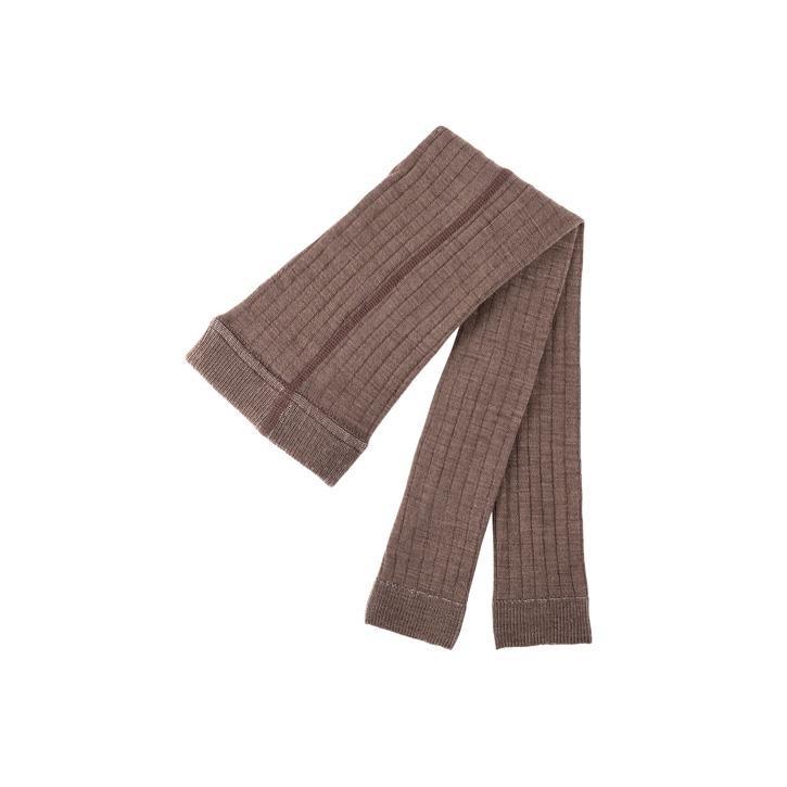 PurePure Mini-Legging WV-BW walnuss 80%Merino kbT 18%BW kbA 2%EA