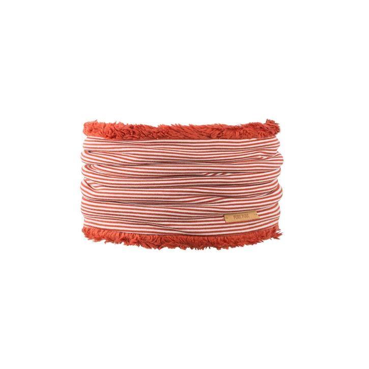 PurePure Mini-Schlupfschal BW roibusch-natur 100% Bio-Baumwolle kbA