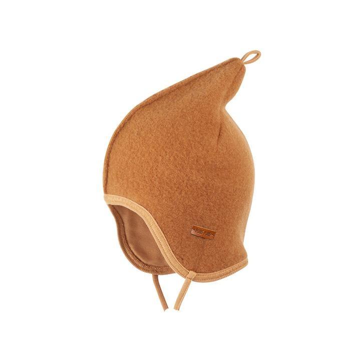 PurePure Zipfel-Binde Fleece karamell