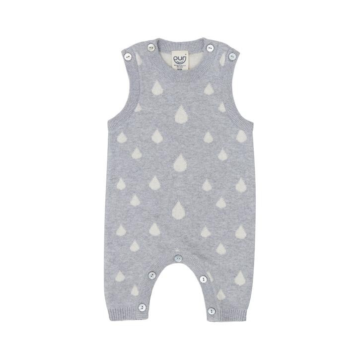 Puri Baby Overall ohne Arm  Drops