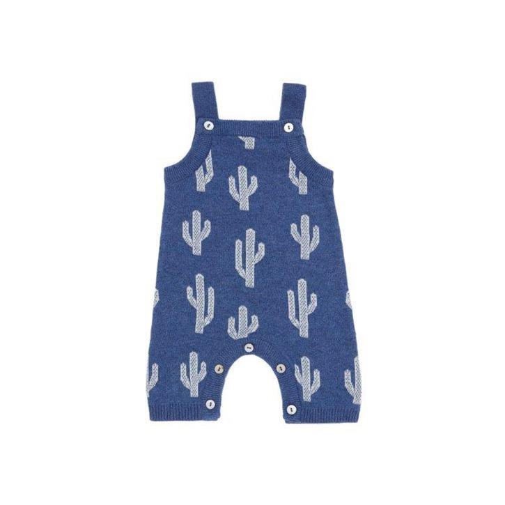 Puri Baby Spieler mit Träger 50/56 Kaktus