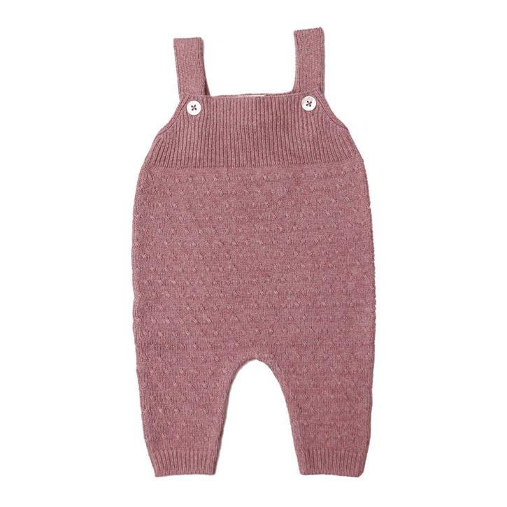 Puri Baby Trägerhose 80%BioBaumwolle 20%Seide GOTS