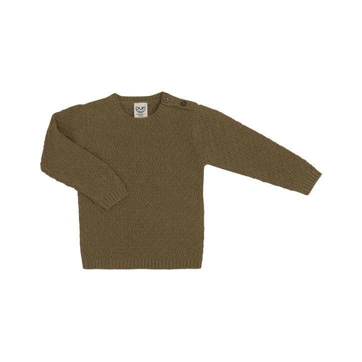 Puri Kinder Pullover Diamond 80% Baumwolle kbA 20% Leinen