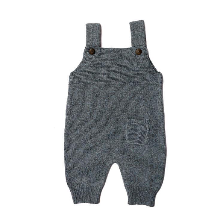Puri Latzhose Tasche 80% BioBaumwolle 20% Wolle GOTS