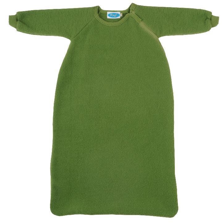 Reiff Fleeceschlafsack mit Arm apfel
