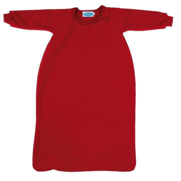 Reiff Fleeceschlafsack mit Arm burgund