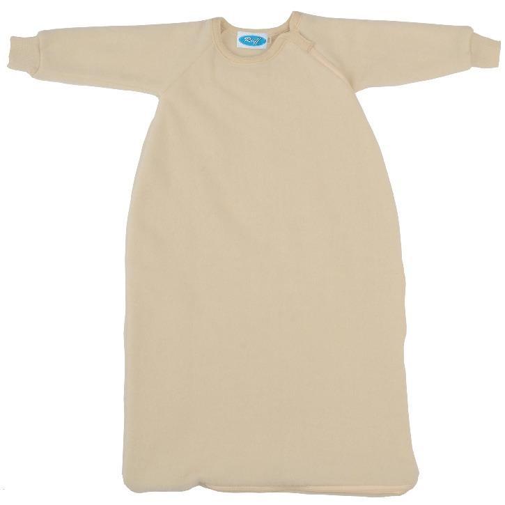 Reiff Fleeceschlafsack mit Arm natur