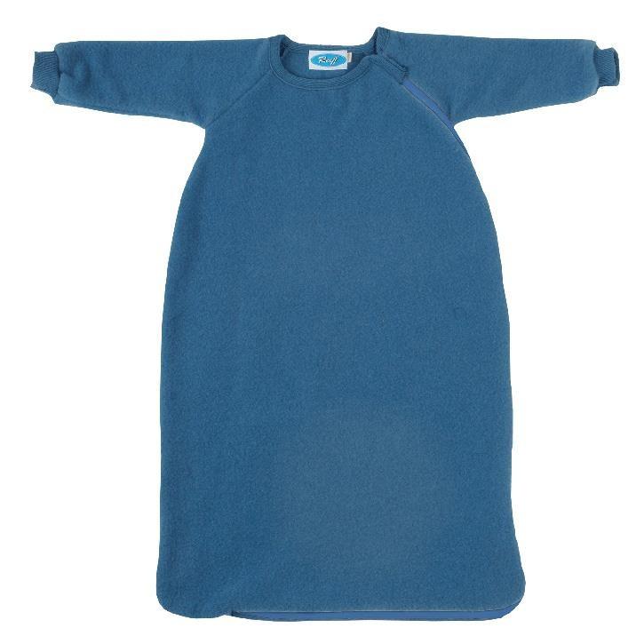 Reiff Fleeceschlafsack mit Arm pazifik
