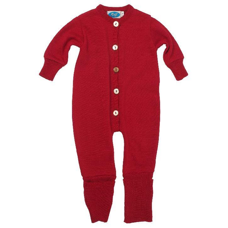 Reiff Overall/Schlafanzug Frottee burgund