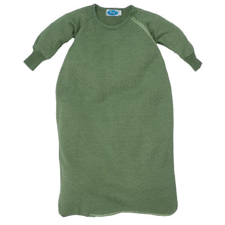 Reiff Schlafsack Frottee mit Arm apfel