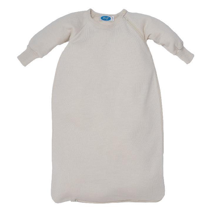 Reiff Schlafsack Frottee mit Arm natur