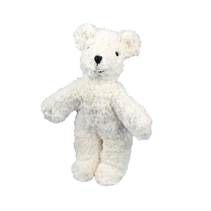 Senger Tierpuppen Baby Bär | weiß