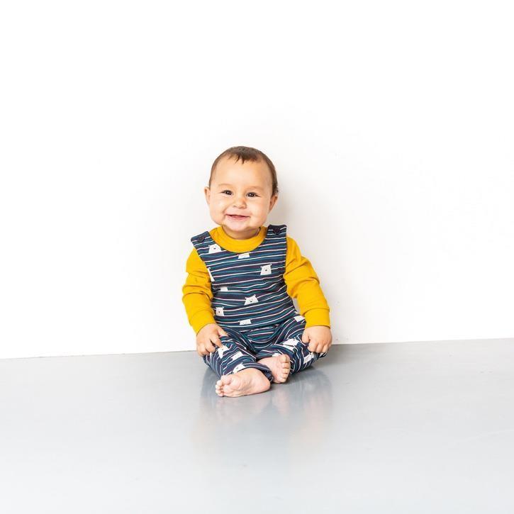 Sense Organics MILAN Baby Body Langarm