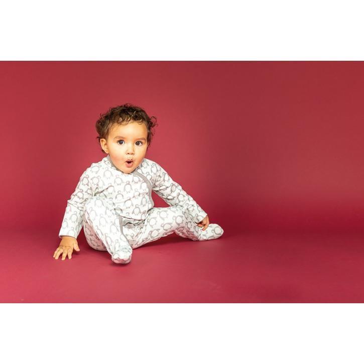 Sense Organics VALO Baby Wrap Growsuit Langarm