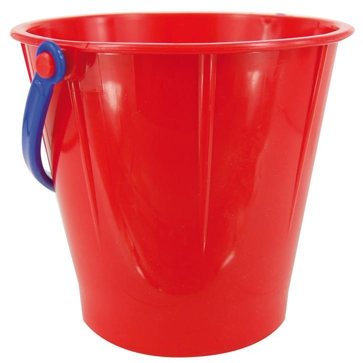 Spielstabil Eimer groß classic rot