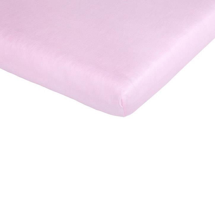 Träumeland Spannbetttuch Tencel rosa 60-70 x 120-140 cm