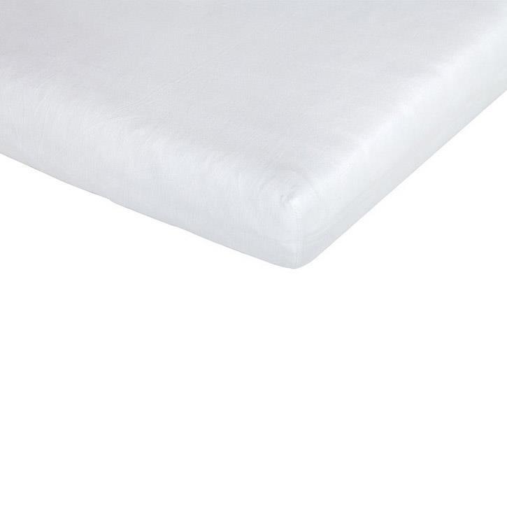 Träumeland Spannbetttuch Tencel weiß 60-70 x 120-140 cm