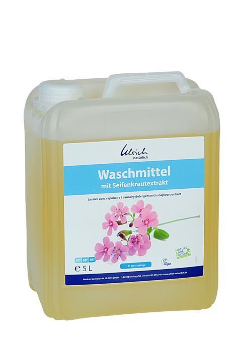 Ulrich Waschmittel mit Seifenkraut 5 l