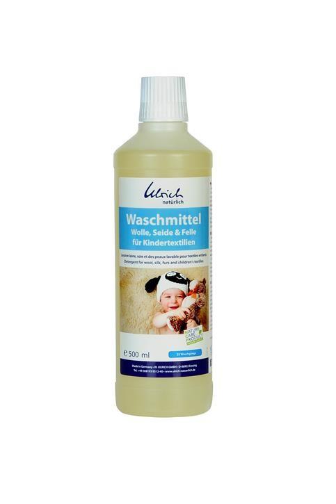 Ulrich Waschmittel Wolle, Seide & Felle für Kindertextilien 500 ml