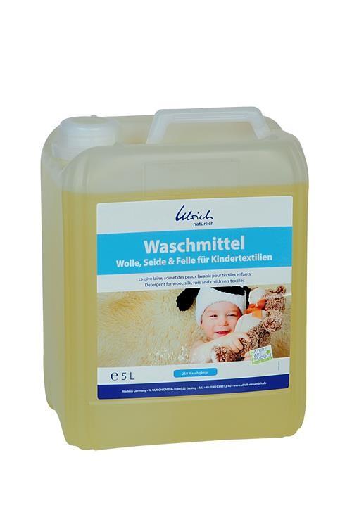 Ulrich Waschmittel Wolle, Seide & Felle für Kindertextilien 5 Liter