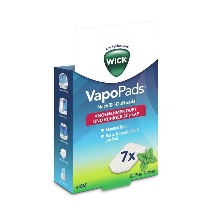 WICK® VapoPads® Nachfüll-Duftpads Menthol ab 36M
