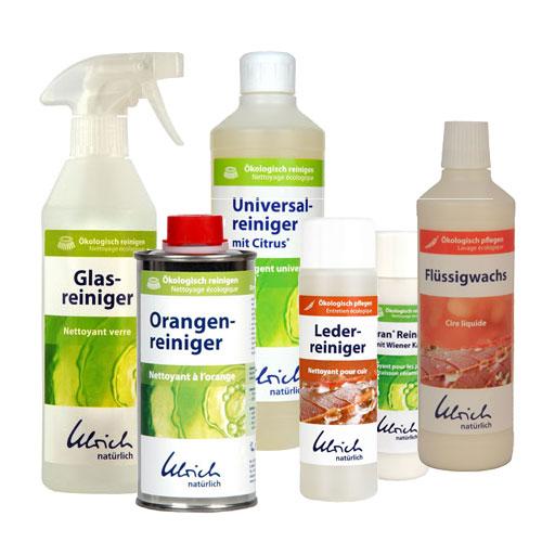 Reinigen und Pflegen mit Ulrich