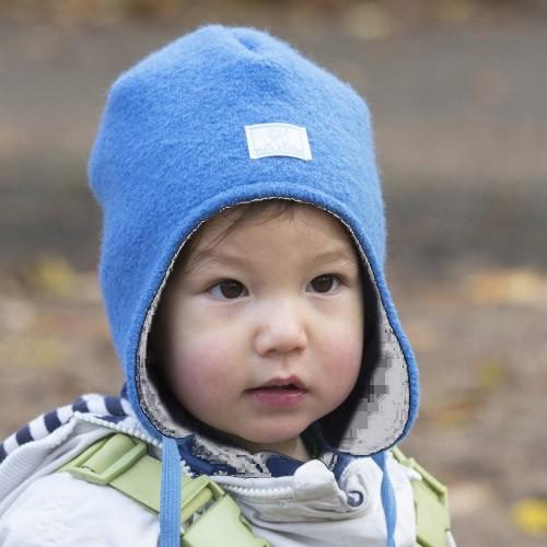 Pickapooh Mütze Jack, Wollwalk blau