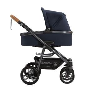 Naturkind Kinderwagen Lux, Design Kornblume Sportwagen (Standard) / Luftkammerräder (Standard)