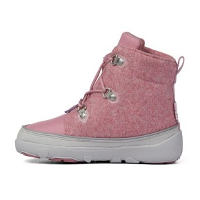 Affenzahn Minimalschuh Midboot Wolle Lace Einhorn 24 Pink Futter: 100% recyceltes Polyester Plüsch