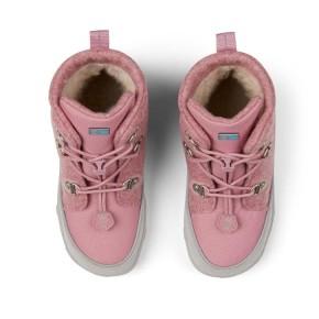Affenzahn Minimalschuh Midboot Wolle Lace Einhorn 25 Pink Futter: 100% recyceltes Polyester Plüsch