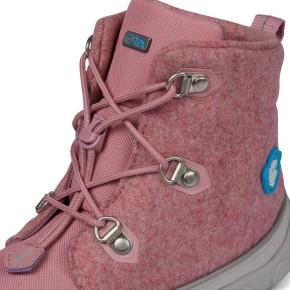 Affenzahn Minimalschuh Midboot Wolle Lace Einhorn 29 Pink Futter: 100% recyceltes Polyester Plüsch
