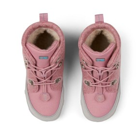 Affenzahn Minimalschuh Midboot Wolle Lace Einhorn Pink Futter: 100% recyceltes Polyester Plüsch