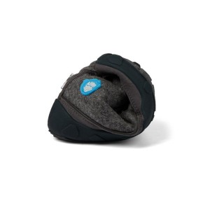 Affenzahn Minimalschuh Midboot Wolle Lace Hund 24 Grau Futter: 100% recyceltes Polyester Plüsch