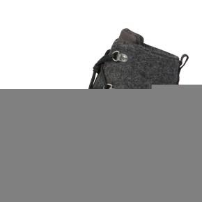 Affenzahn Minimalschuh Midboot Wolle Lace Hund 26 Grau Futter: 100% recyceltes Polyester Plüsch