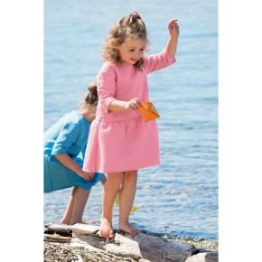 Disana Kleid rosa 100% Bio-Schurwolle