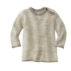 Disana Melange-Pullover 100% kbT Schurwolle