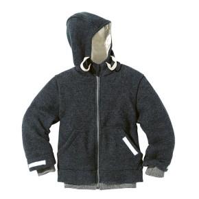 Disana Outdoor-Jacke Kollektion 18/19 anthrazit 100% bio-Schurwolle/ Futter 100% bio-Baumwolle