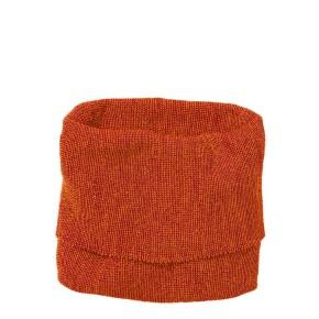 Disana Schlauch-Schal orange-bordeaux