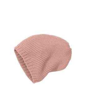 Disana Strick-Mütze rosé