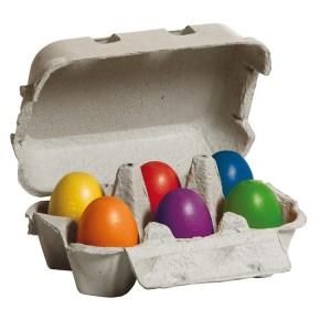 Erzi Eier, bunt im Karton 17012