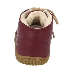 Filii-Barefoot Schnürer Bio nappa berry wool laces Barfußschuh