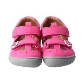 Filii Sandale pink  KAIIMAN Leder/Textil Klett Mittel