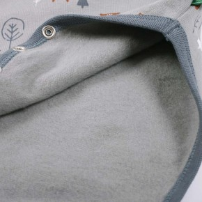 Freds World Bear body Langarmbody Morning blue CO/95,EL/5
