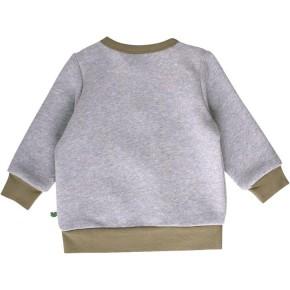 Freds World TRACTOR Sweatshirt mit Frontprint Grey melange