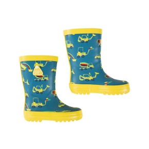 Frugi Puddle Buster Wellington Boots  Dig A Rainbow 21