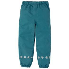 Frugi Rain or Shine Hose  Steely Blue 1-2J