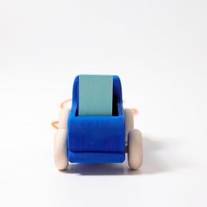 Grimms Nachzieh Lastwagen, blau