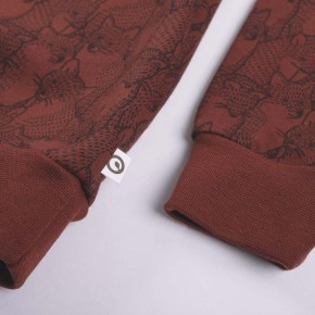 Müsli Fuchs Sweatshirt 122 Fudge CO/95,EL/5